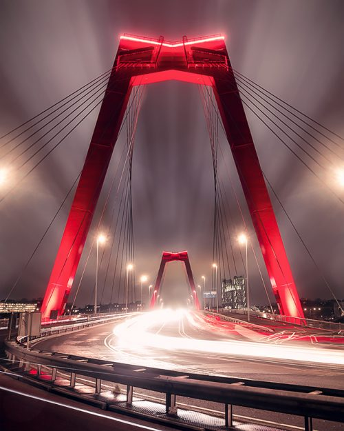 Willemsbrug - Long Exposure
