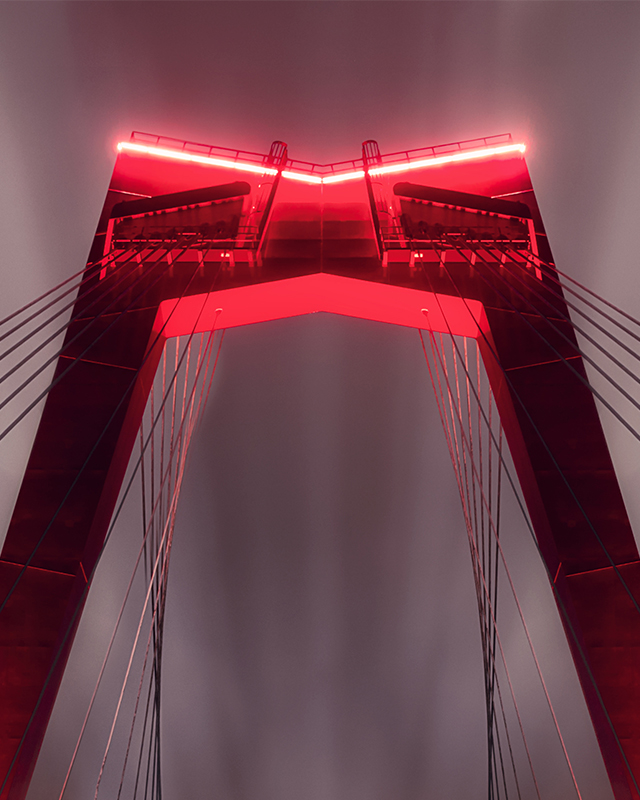 Willemsbrug - Long Exposure - Zoom 1