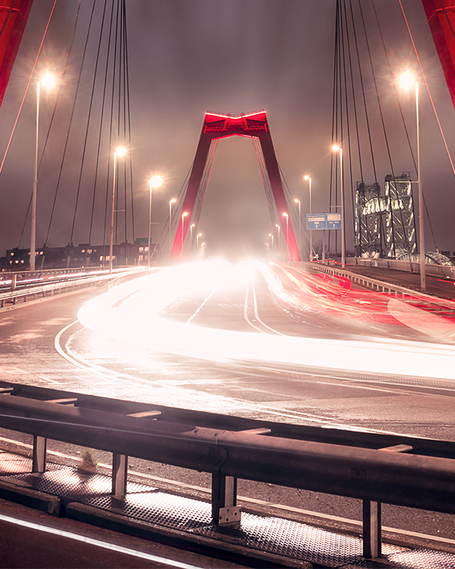 Willemsbrug - Long Exposure - Zoom 2