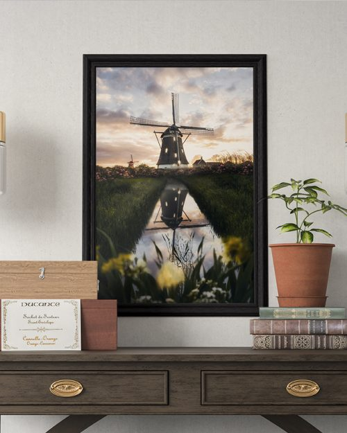 Windmill - Seven Houses - Ingelijst