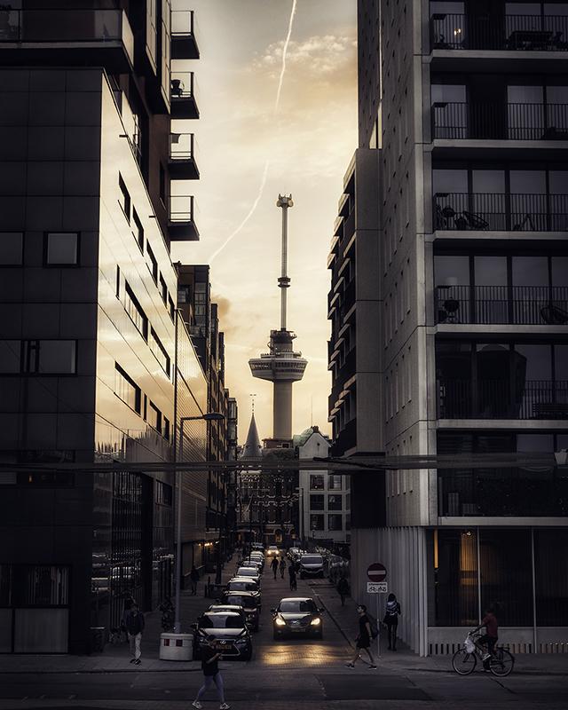 Rotterdam - Euromast - Street