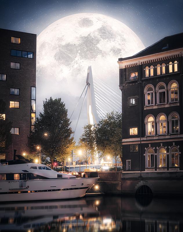 Rotterdam - Manhattan aan de Maas
