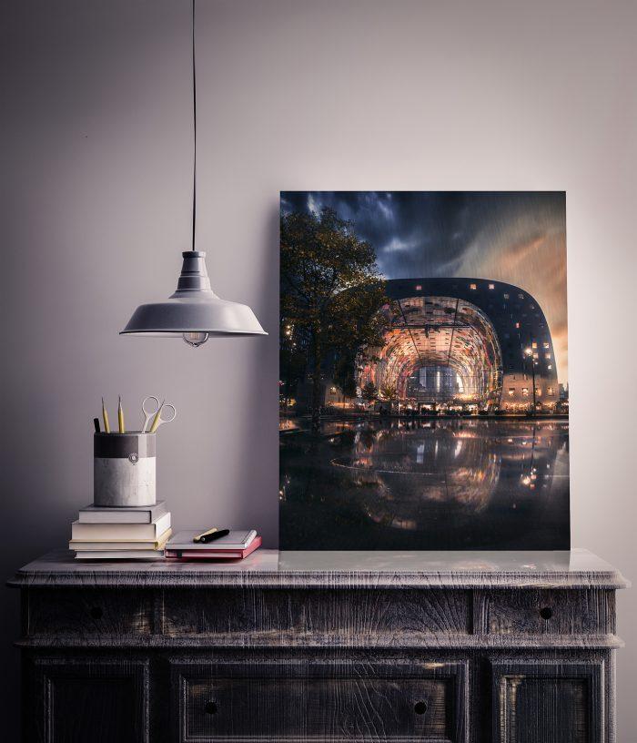 Rotterdam - Markthal - Reflection - Dibond