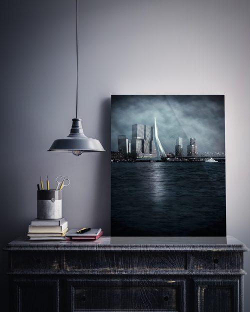 Rotterdam - Dark Times - Ingelijst