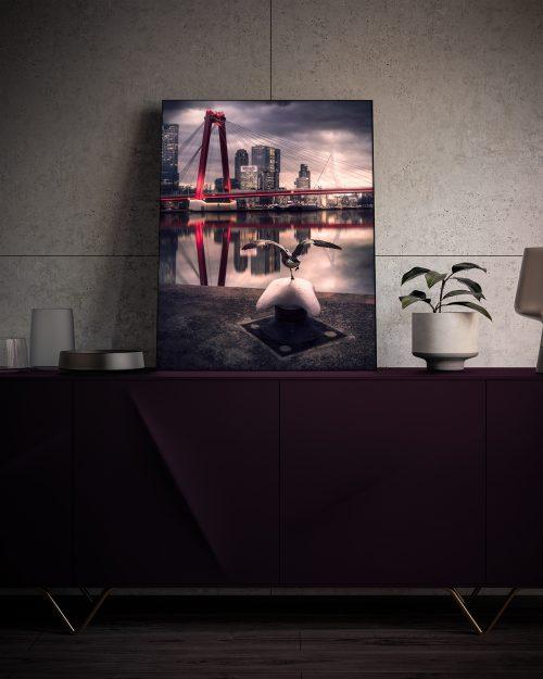 Rotterdam - Willemsbrug - Kade