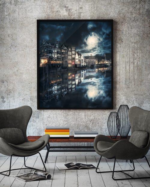 Rotterdam - Lovely Evening - Ingelijst