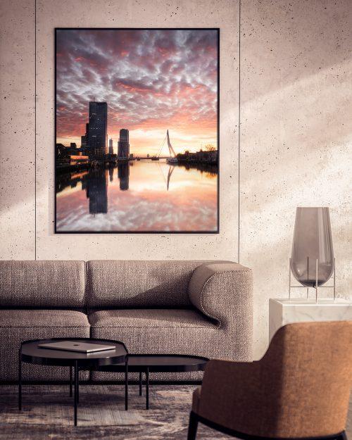 Rotterdam - Magical Sunset - Noordereiland - Museum Kwaliteit